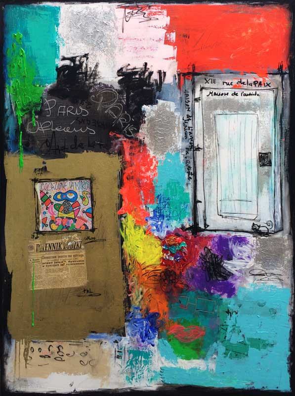 - peinture acrylique sur toile -  cm x  cm