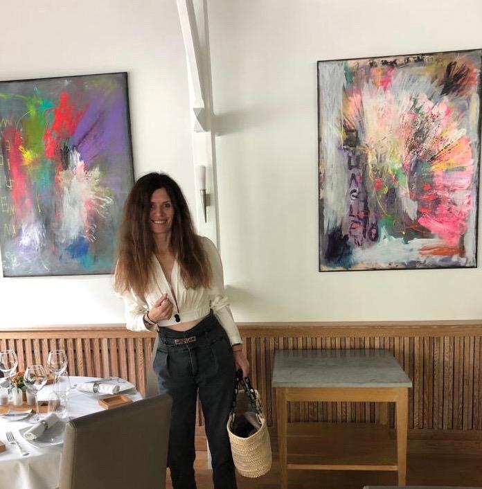 Restaurant Le Pavillon Bleu in Olivet (45), France.